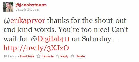 Saying Thank-You on Twitter